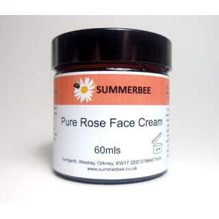 Pure Rose Face Cream 60mls